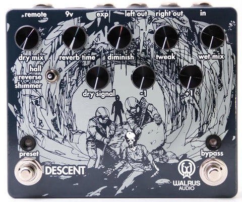 Walrus Audio Descent Reverb