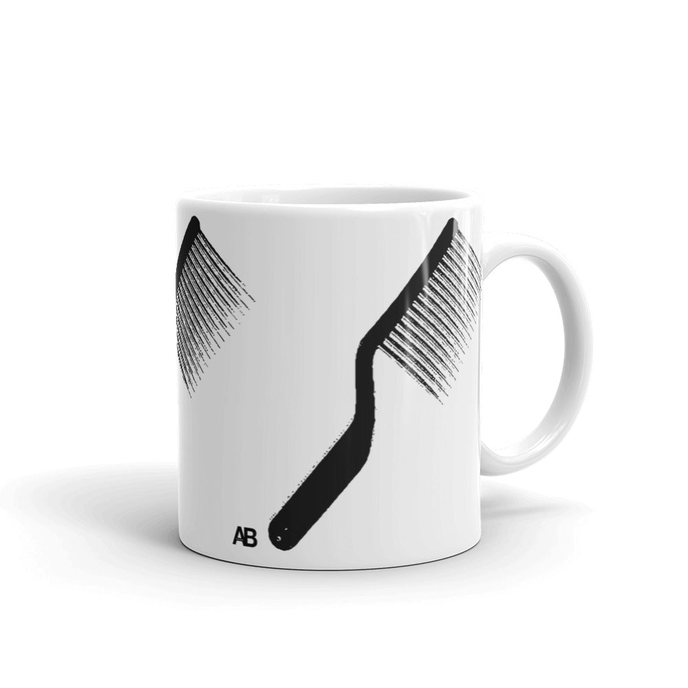 The Rake Mug by Artikle Blak