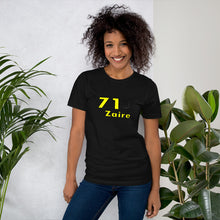Load image into Gallery viewer, Zaire 71 Short-Sleeve Unisex T-Shirt
