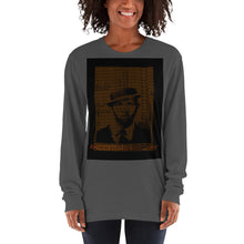 Load image into Gallery viewer, Ancestors Watchin' 2.0  Long sleeve t-shirt by Artikle Black