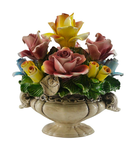 8x7 OVAL FLOWER BASKET