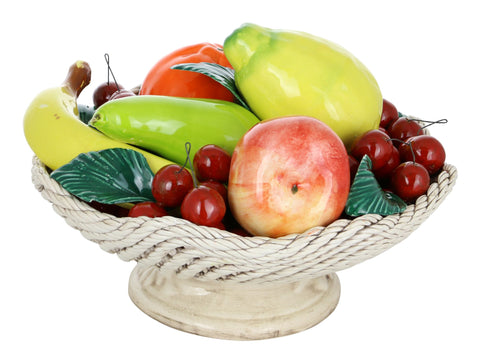 12X9 FRUIT BASKET ON SHORT BASE