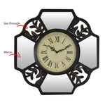 16X16 WALL CLOCK W/ MIRROR PCS