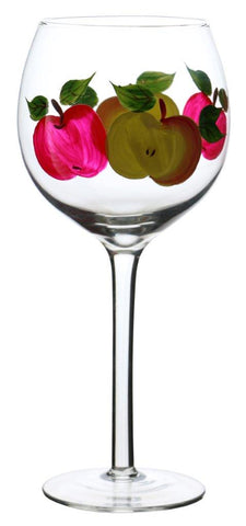 "4PC SET OF 8.5"" DEC. WINE"