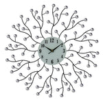 "20"" ROUND WALL CLOCK, ABSTRACT BRANCHES"