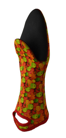 NEOPRENE OVEN GLOVE, FRUITS PATTERN