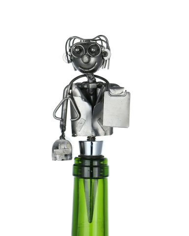 "6"" DOCTOR WINE STOPPER"