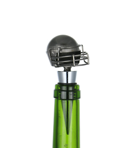 "4"" FOOTBALL HELMET WINE STOPPER"