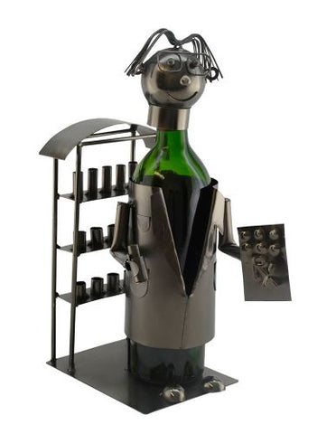 WINE BOTTLE HOLDER, PHARMACIST