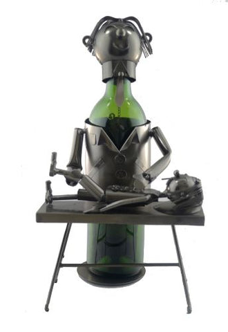 WINE BOTTLE HOLDER, CHIROPRACTOR