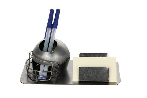 8X4 PEN & BIZ CARD HOLDER, FOOTBALL HELMET