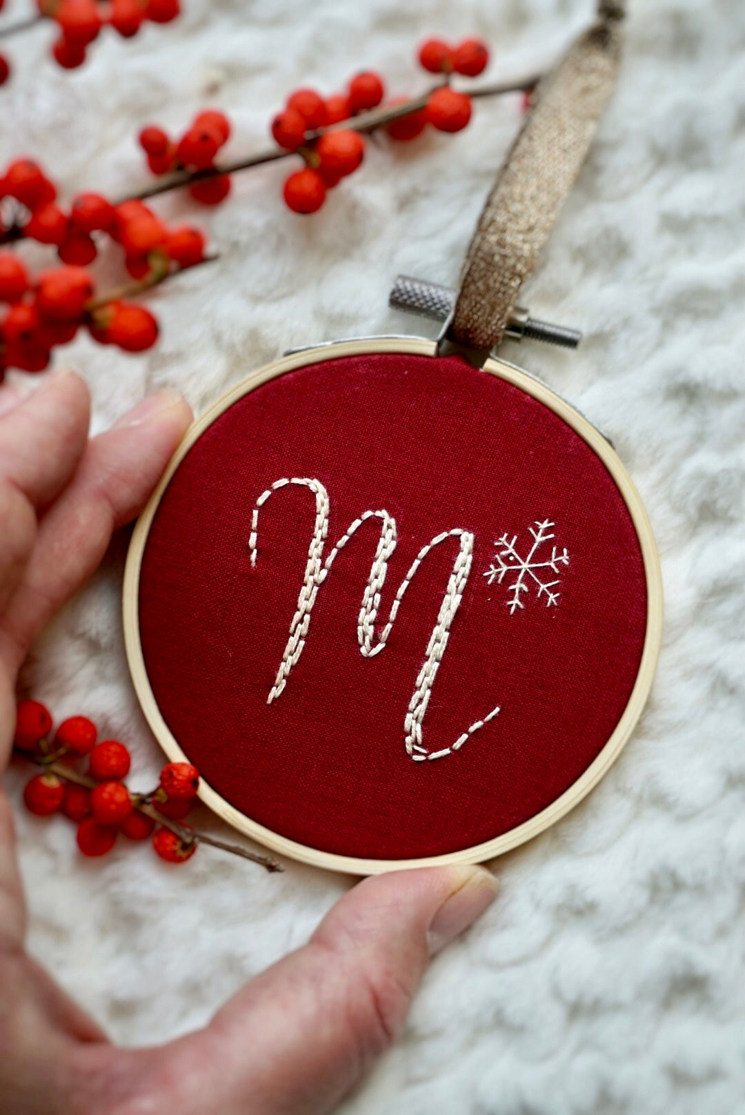 PACK OF 4 ❞ Noël ornaments, Initials (15% off)