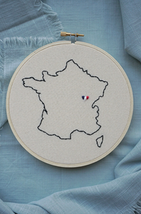 Custom hoop collection ❞ France