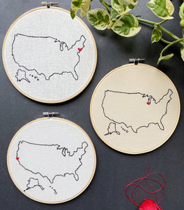 Custom hoop collection ❞ USA
