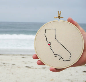 U.S states hoop collection ❞ California, San Francisco