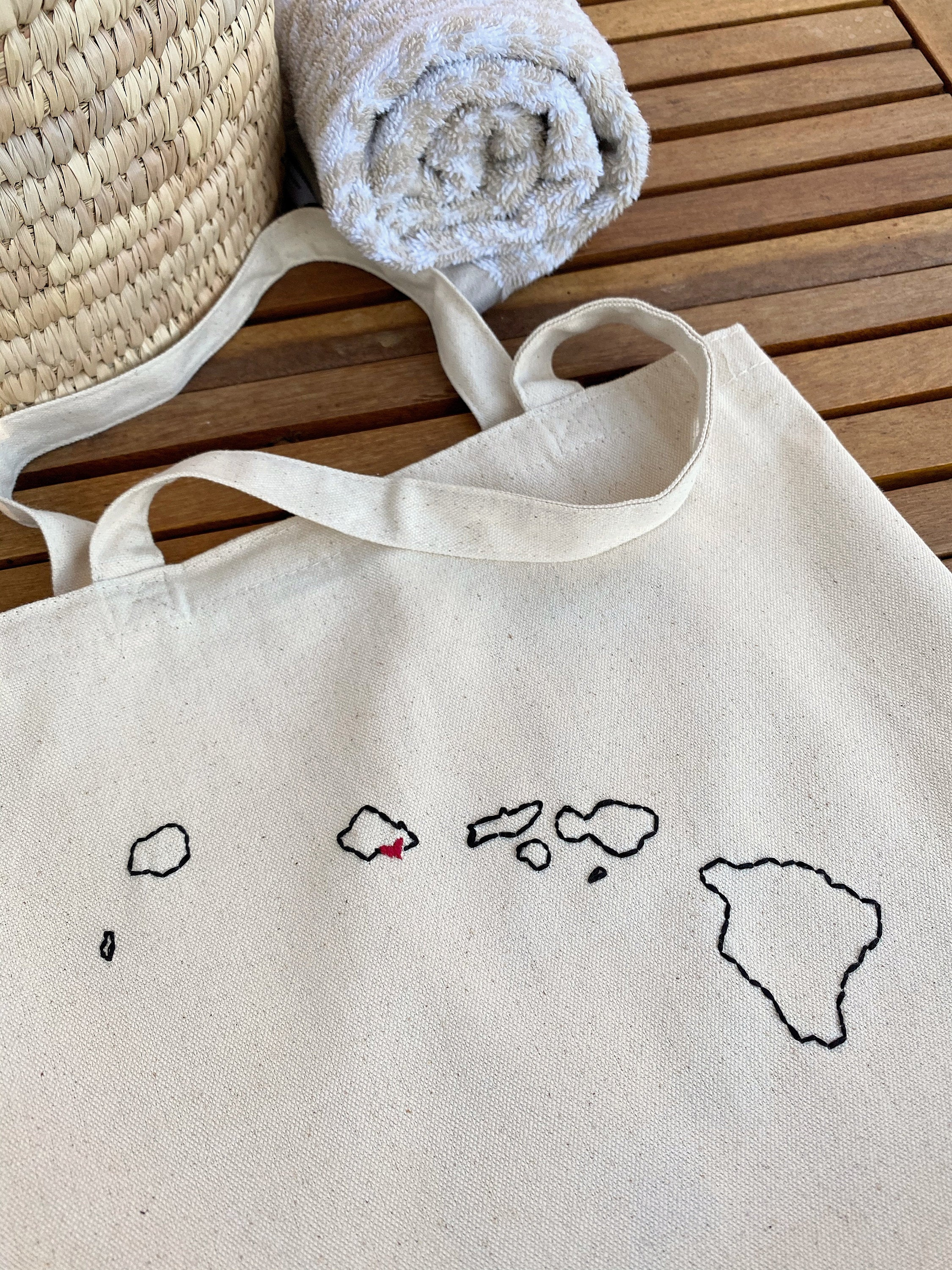 Small Tote bag collection ❞ Countries & U.S states [2 sides]