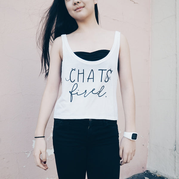 Chats Fired Tank