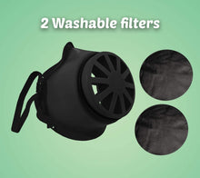 Load image into Gallery viewer, Reusable Face Mask Cover – Made in USA - Comfortable Head Elastic (5 pcs) | 2 Polypropylene Washable Filters Included | Block Dust & Air Pollution