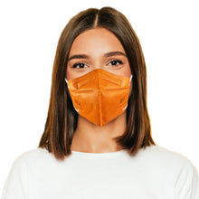 Load image into Gallery viewer, Woman in M95c orange mask