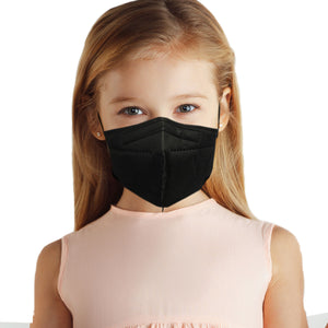 Made in USA, Kids 5-Layer M95c Travel Face Mask with with Ultra High Filtration (5 Pack) KN95 N95