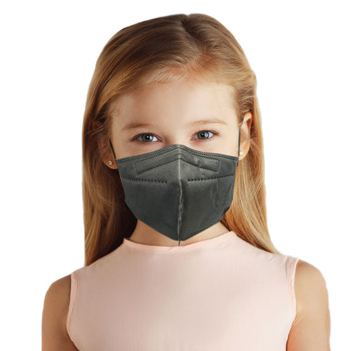Girl with gray M95c Mask