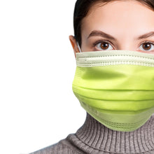 Load image into Gallery viewer, Woman in green mask