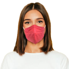 Load image into Gallery viewer, Woman in M95c hot pink mask