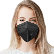 Cargar imagen en el visor de la galería, Made in USA, Adult 6-Layer M96i Travel Face Mask Respirator with Breathing Valve