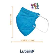 Load image into Gallery viewer, Made in USA, Kids 5-Layer M95c Travel Face Mask with with Ultra High Filtration