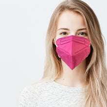 Load image into Gallery viewer, M95i (N95 KN95 KF94) Face Mask Hot Pink