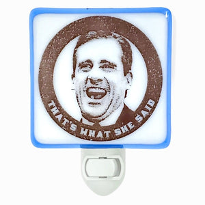 Michael Scott Night Light by Hunky Dory Studio