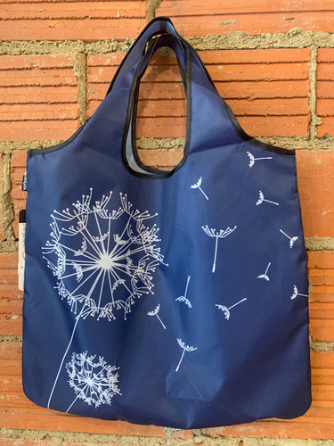 Dandelion Print Reusable Shopping Bag