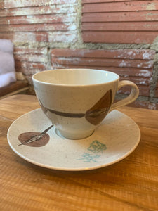 Red Wing Lute Song Cup and Saucer