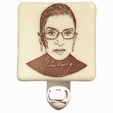 Load image into Gallery viewer, Ruth Bader Ginsberg Night Light by Hunky Dory Studio
