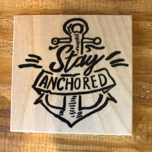 Stay Anchored Coaster by Foundry Woodprints