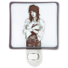 Load image into Gallery viewer, Patti Smith Night Light by Hunky Dory Studio