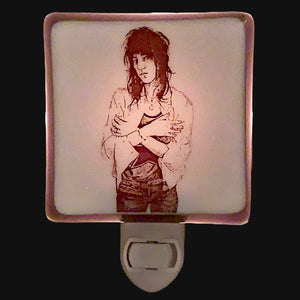 Patti Smith Night Light by Hunky Dory Studio
