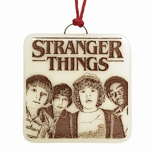 Stranger Things Ornament by Hunky Dory Studio