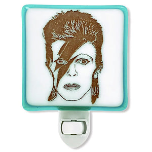 David Bowie Ziggy Stardust Night Light by Hunky Dory Studio