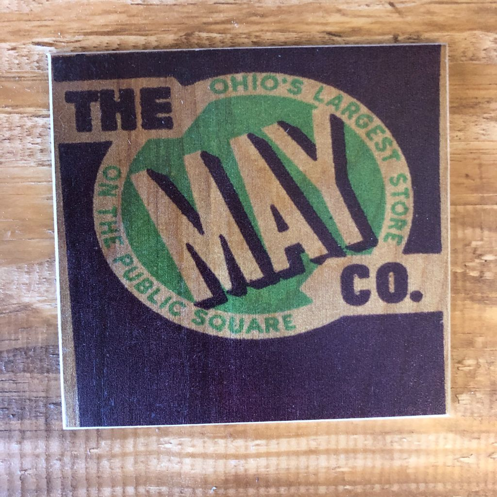 The May Co. Coaster by Foundry Woodprints