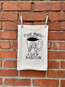 Dolly Tea Towel