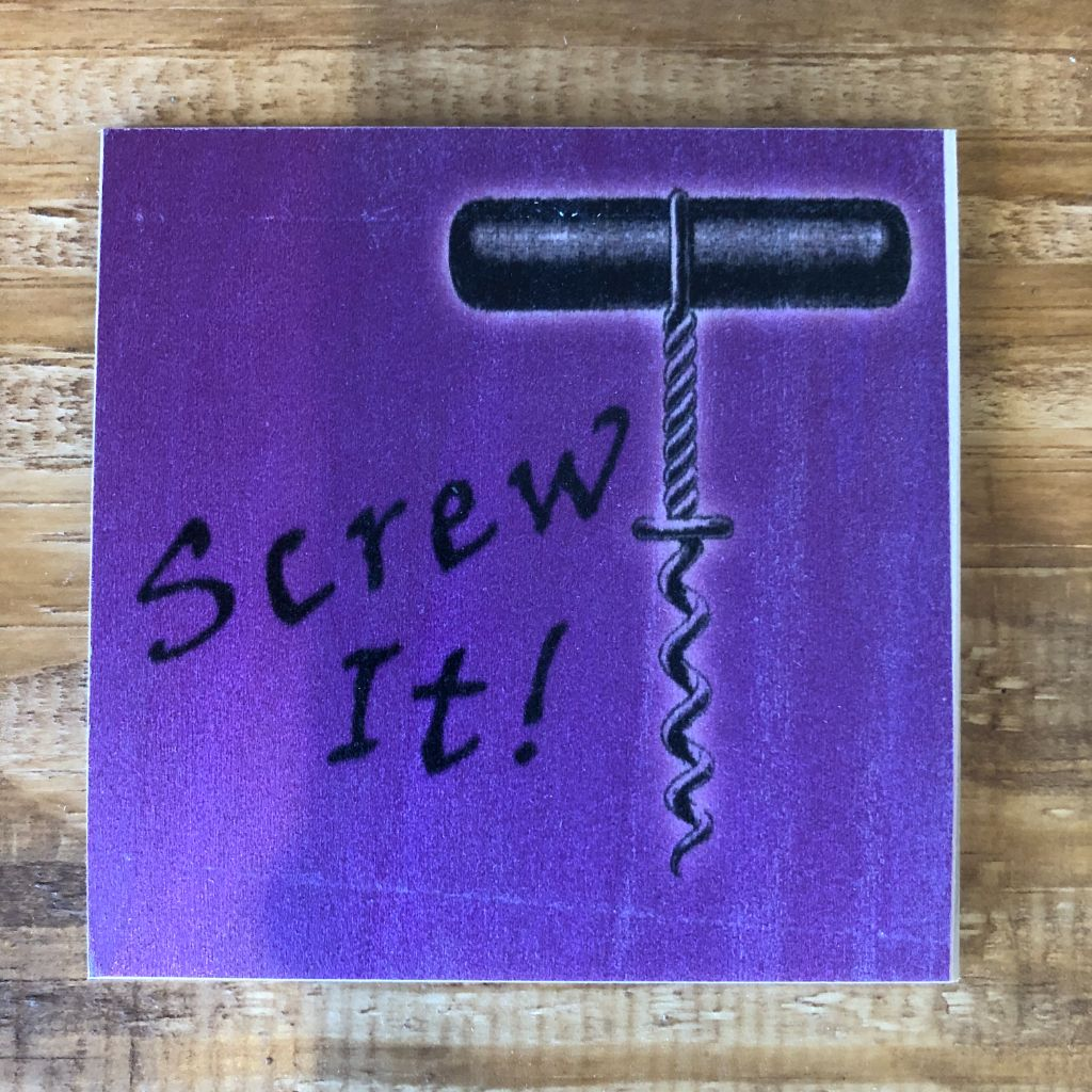 Screw It Coaster by Foundry Woodprints