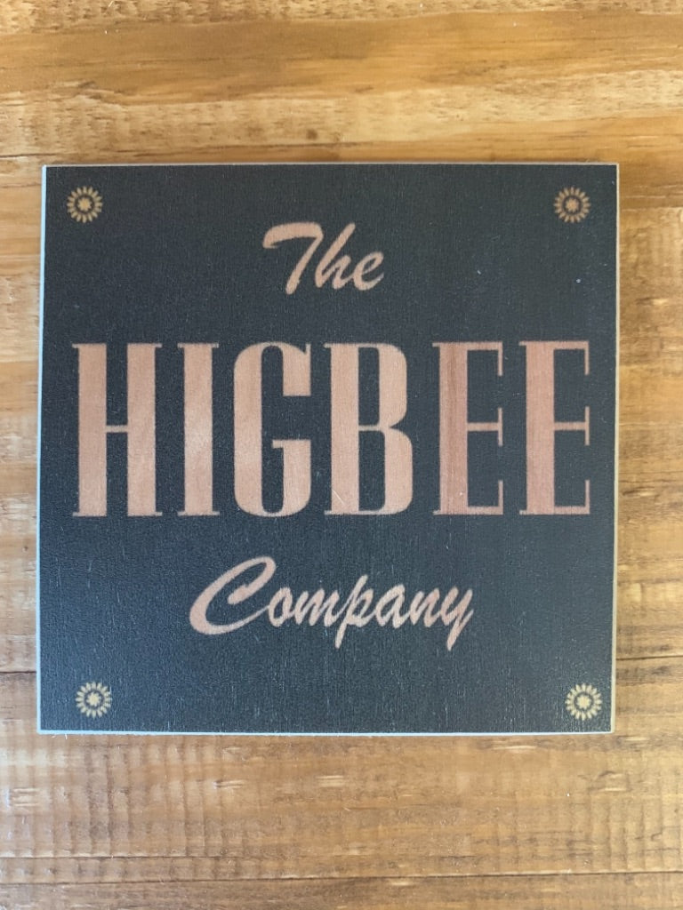The Higbee Company Coaster by Foundry Woodprints