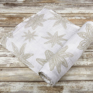 Star Anise Swaddle by Newcastle Classics