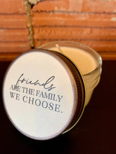 Load image into Gallery viewer, Furbish and Fire Friends are the Family We Choose Mini Jar Soy Candle in Mineral Springs