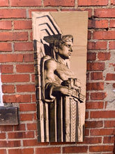 Load image into Gallery viewer, Guardian of Traffic Woodprint by Foundry Woodprints (IN STORE OR CURBSIDE PICK UP ONLY)