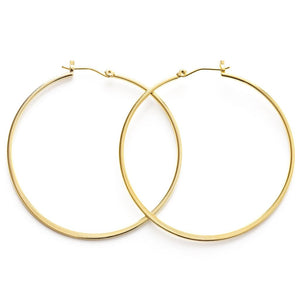 "2"" Gold Hoops by Amano Studio"