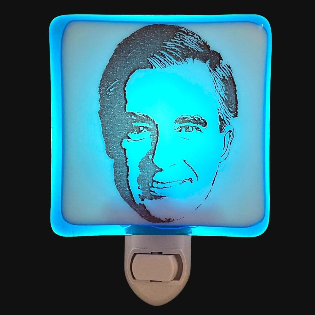 Mister Rogers Night Light by Hunky Dory Studio