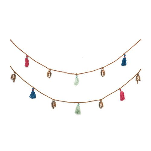 Holi Essence Garland with Bells