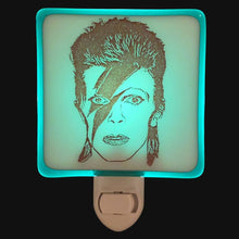 Load image into Gallery viewer, David Bowie Ziggy Stardust Night Light by Hunky Dory Studio